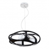 Amano lampa wisząca czarna 324/3 CZA Lampex