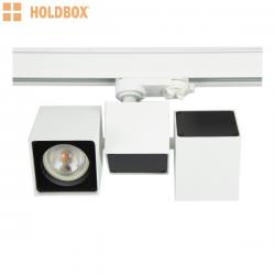 Oprawa na szynoprzewód Vasto I GU10 czarna Holdbox