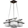 Delta lampa wisząca wenge 10701 Sigma