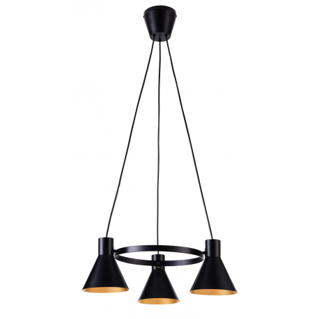 More lampa wisząca czarna Candellux
