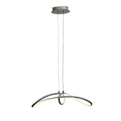Slash plafon LED srebrny Candellux