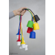Fotolampa Adore - lampa stojąca mała orzech