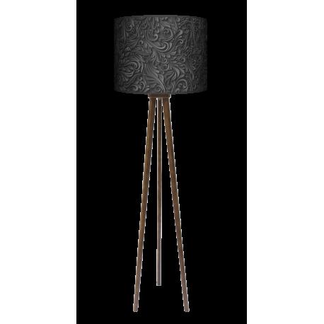 Adore lampa trójnóg duża drewniana Fotolampy