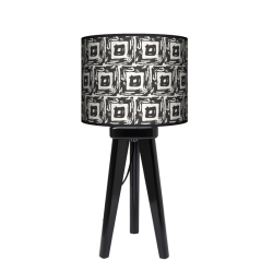 Fotolampa Awangarda - lampa stojąca mała wenge