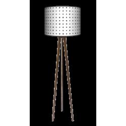 Czarne kropki lampa trójnóg duża Fotolampy