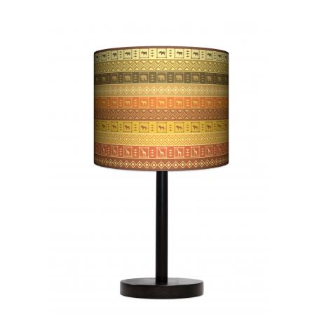 Fotolampa Afryka - lampa stojąca mała buk