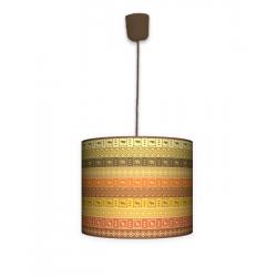 Fotolampa Afryka - lampa stojąca mała orzech