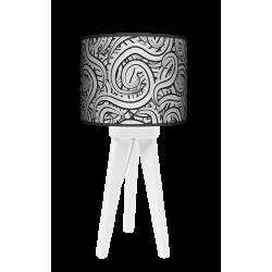 Fotolampa Pnącza - lampa stojąca mała wenge