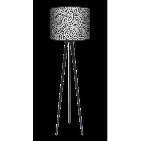 Pnącza trójnóg lampa drewniana duża Fotolampy