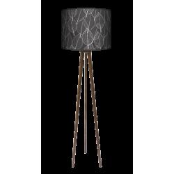 Fotolampa Czarny las - lampa stojąca mała calvados