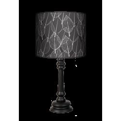 Fotolampa Czarny las - lampa stojąca mała wenge