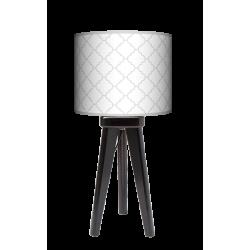 Fotolampa Elegancja - lampa stojąca mała wenge