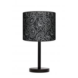 Fotolampa Glamour - lampa stojąca mała buk