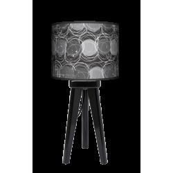 Fotolampa Grey - lampa stojąca mała orzech