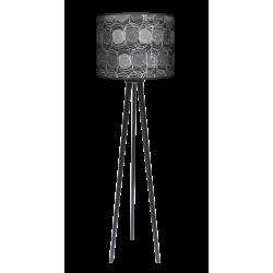 Grey lampa trójnóg drewniana duża Fotolampy