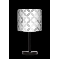 Fotolampa Light grey - lampa stojąca mała buk