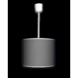 Fotolampa Grey tie - lampa stojąca mała calvados