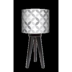 Fotolampa Light grey - lampa stojąca mała orzech