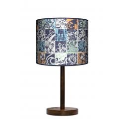 Fotolampa Grunge - lampa stojąca mała calvados