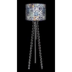 Grunge lampa trójnóg drewniana dużaa Fotolampy