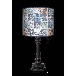 Grunge Queen lampa drewniana Fotolampy