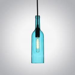 Butelka niebieska lampa wisząca VT-7558 V-TAC