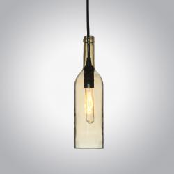 Butelka bursztyn lampa wisząca VT-7558 V-TAC
