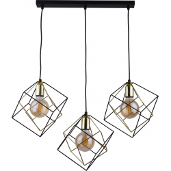 Alambre lampa wisząca czarna 2699 TK-Lighting