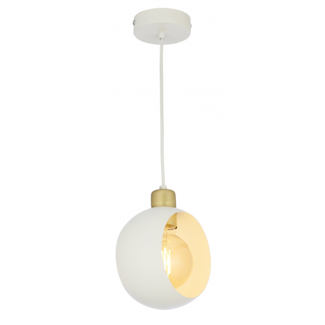 Cyklop White lampa wisząca biała 2741 TK Lighting
