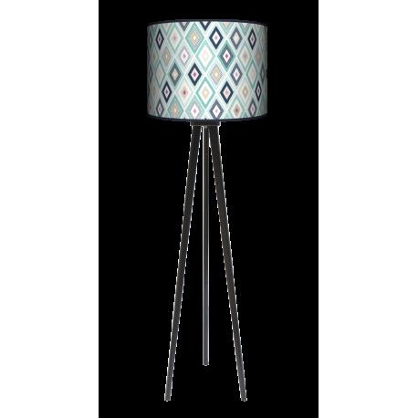 Ozdoba trójnóg lampa drewniana duża Fotolampy