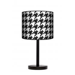 Fotolampa Pepitka - lampa stojąca mała buk