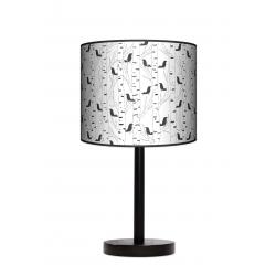 Fotolampa Ptaki - lampa stojąca mała calvados