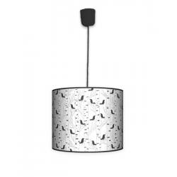 Fotolampa Ptaki - lampa stojąca mała orzech