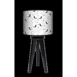 Fotolampa Ptaki - lampa stojąca mała wenge