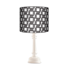 Retro Queen lampa drewniana Fotolampy
