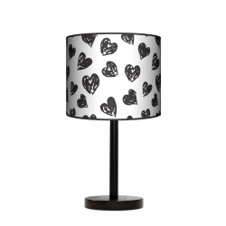 Fotolampa Serca - lampa stojąca mała buk