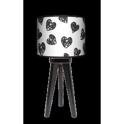 Fotolampa Serca - lampa stojąca mała orzech