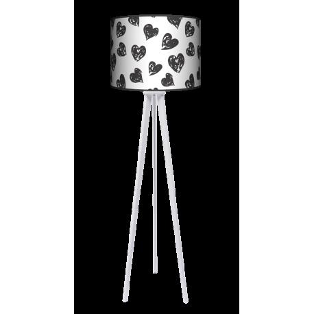 Serca trójnóg lampa stołowa duża Fotolampy