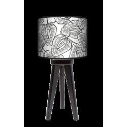 Fotolampa Truskawki - lampa stojąca mała wenge
