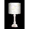 Żółty Ptak lampa Queen drewniana Fotolampy