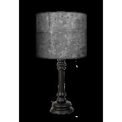 Black stone Queen lampa drewniana Fotolampy
