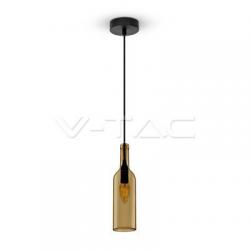 Butelka brązowa lampa wisząca VT-7558 V-TAC