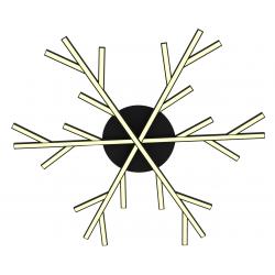 Samos plafon czarny LED A0017-130 Candellux