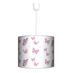 Motyle lampa wisząca duża Fotolampy