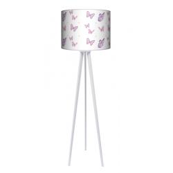 Motyle lampa trójnóg drwniana duża Fotolampy