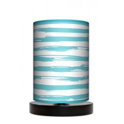 Paintbrusk lampa stojąca drewniana mała Fotolampy