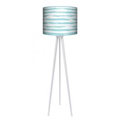 Paintbrusk lampa trójnóg drewniana duża Fotolampy