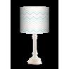 Pastelowy Zygzak Queen lampa Fotolampy