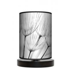 Dmuchawce lampa stojąca drewniana mała Fotolampy