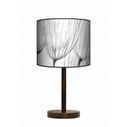 Dmuchawce lampa stojąca drewniana duża Fotolampy